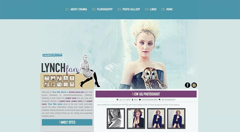 Evanna Lynch Fan | EvannaFan.com