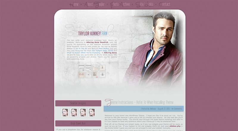 Taylor Kinney Fan | Taylor-Kinney.net