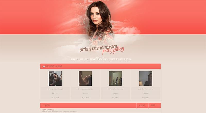 Admiring Caterina Scorsone | Caterina-Scorsone.com