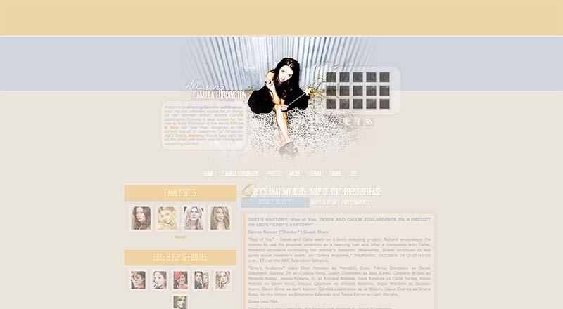 Alluring Camilla Luddington | Camilla-Luddington.com