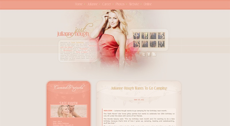 Just Julianne Hough | JulianneHough.us