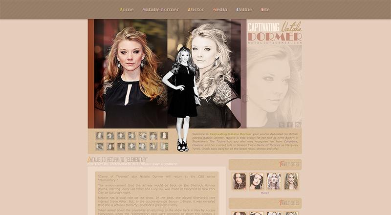 Captivating Natalie Dormer | Natalie-Dormer.com